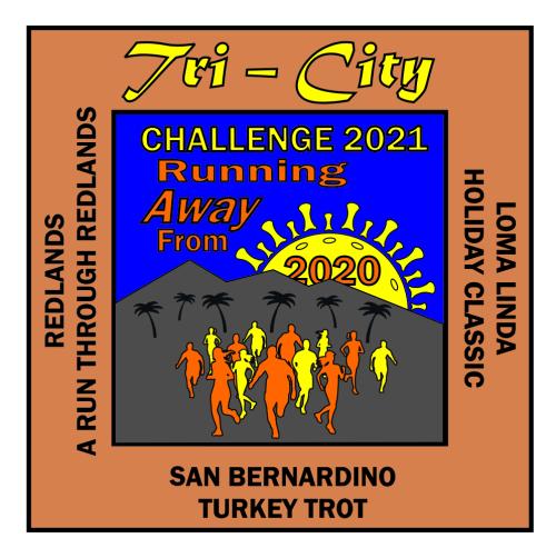 Tri City Challenge Medal